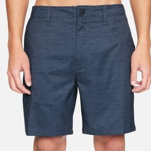 "Hurley Marwick 20"" Dri-fit Walking Shorts Size 34"